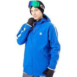 Clothing Men Track tops DC Shoes Surf The Web Spectrum Snowboarding Jacket Blue