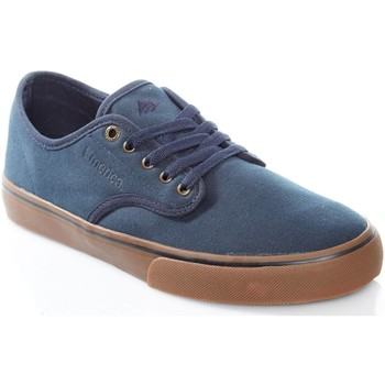 Shoes Men Low top trainers Emerica Navy-Gum-Gold Wino Standard Shoe Black