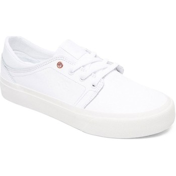 Shoes Women Low top trainers DC Shoes White-White Trase LE Womens Low Top Shoe White