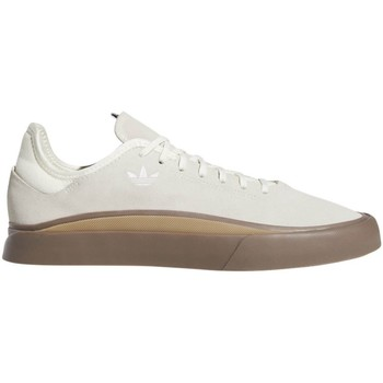 Shoes Men Low top trainers adidas Originals Off White-Gum4-Gum5 Sabalo Shoe White