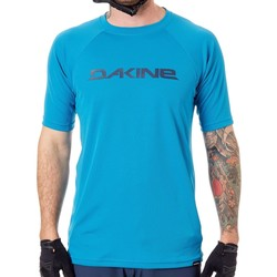 Clothing Men Short-sleeved t-shirts Dakine Blue Rock 19W Rail Short Sleeved MTB Jersey Blue