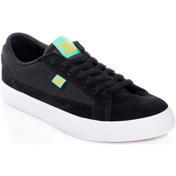 Shoes Men Low top trainers DC Shoes Black-Turquoise Lynnfield Skate Series Shoe Black