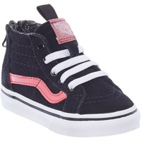 Shoes Boy Hi top trainers Vans Black-Metallic SK8-Hi MTE Zip Toddlers Shoe Black