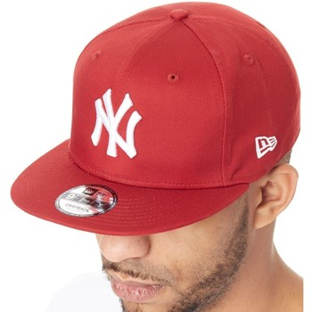 Clothes accessories Men Caps New-Era League Essential 9Fifty New York Yankees Snapback Cap Red