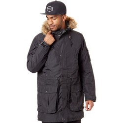 Clothing Men Parkas Vans Black Perimeter MTE Water Resistant Jacket Black
