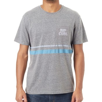 Clothing Men Short-sleeved t-shirts Rip Curl Phantom Mama Heritage Pocket T-Shirt Grey