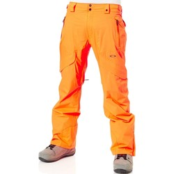 Clothing Men Cargo trousers Oakley Neon Orange Vertigo 15K Snowboarding Pants Orange