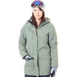 Clothing Women Parkas Nikita Fatigue Reverb Parka Womens Snowboarding Jacket Green