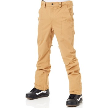 Clothing Men Chinos Thirtytwo Brown Essex Chino Slim Snowboarding Pants Brown