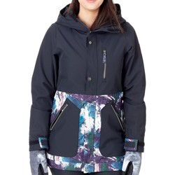 Clothing Women Parkas Nikita Sycamore Womens Snowboarding Jacket Black