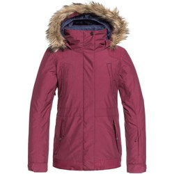 Clothing Girl Parkas Roxy Beet Red Tribe Girls Snowboarding Jacket Red