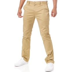 Clothing Men Trousers DC Shoes Khaki Worker Straight Pant Beige