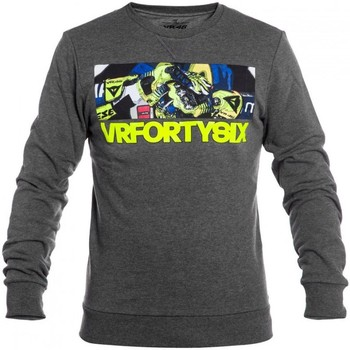 Clothing Men Sweaters Valentino Rossi Grey VR46 Life Style Sweater Grey
