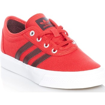 Shoes Men Low top trainers adidas Originals Scarlet-Night Red-Footwear White Adi-Ease J Kids Shoe Red