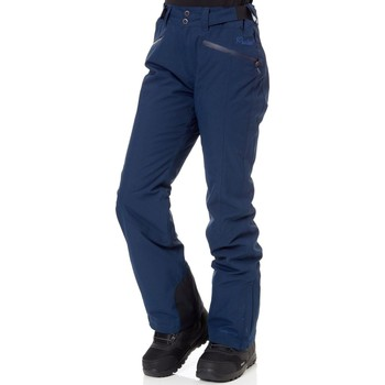 Clothing Women Trousers Protest Ground Blue Kensington Womens Snowboarding Pants Blue