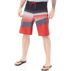 Clothing Men Shorts / Bermudas Oakley Red Line Gnarly Wave - 21 Inch Boardshorts Red
