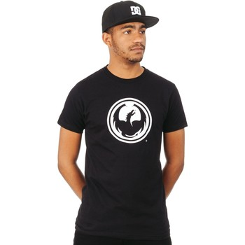Clothing Men Short-sleeved t-shirts Dragon Black Icon T-Shirt Black