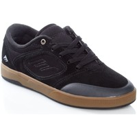 Shoes Men Low top trainers Emerica Black-Gum Dissent Shoe Black