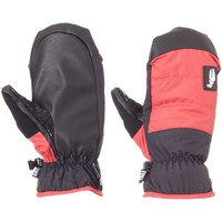 Clothes accessories Men Gloves Crab Grab Red-Black Snuggler Snowboarding Mittens Red