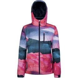 Clothing Women Sweaters Protest Tulip Red Mallis Womens Snowboarding Jacket Red