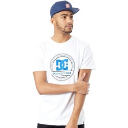 Clothing Men Short-sleeved t-shirts DC Shoes Snow White Phenomom T-Shirt White