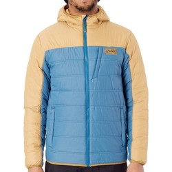 Clothing Men Duffel coats Dakine Moroccan Blue-Bronze Larrie Snowboarding Jacket Blue