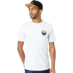 Clothing Men Short-sleeved t-shirts Dragon White Icon Chest T-Shirt White