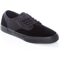 Shoes Men Low top trainers Emerica Black-Black-Black Wino Standard Shoe Black