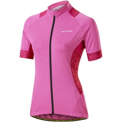 Clothing Women Short-sleeved t-shirts Altura 2016 Peloton Womens Short Sleeved Cycling Jersey Pink