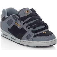 Shoes Men Low top trainers Globe Charcoal-Black-Camo Sabre Shoe Grey