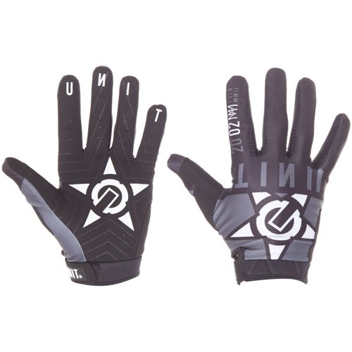 Clothes accessories Men Gloves Unit Black Stealth MTB Gloves Black