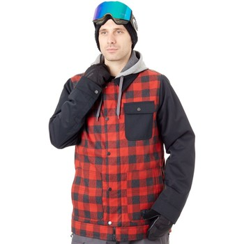 Clothing Men Jackets Burton Dunmore Snowboarding Jacket Red