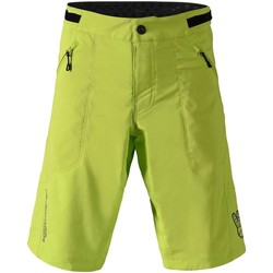 Clothing Men Shorts / Bermudas Troy Lee Designs Lime 2018 Skyline MTB Shorts Green