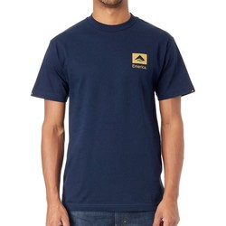 Clothing Men Short-sleeved t-shirts Emerica Navy Brand Combo T-Shirt Black