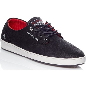 Shoes Men Low top trainers Emerica Independent Black-Grey-Black Romero Laced Shoe Black
