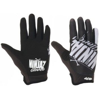 Clothes accessories Men Gloves Ninjaz Black-White 2017 The Bones MTB Gloves Black