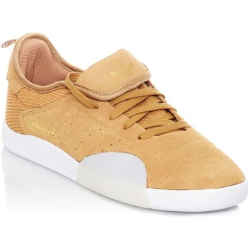 Shoes Men Low top trainers adidas Originals Mesa-Footwear White-Gold Metalic 3ST.003 Shoe Brown