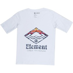 Clothing Women Short-sleeved t-shirts Element Wave Crew White