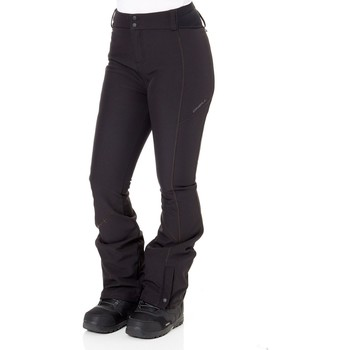 Clothing Women Cargo trousers O'neill Black Out FA18 Blessed Womens Snowboarding Pants Black