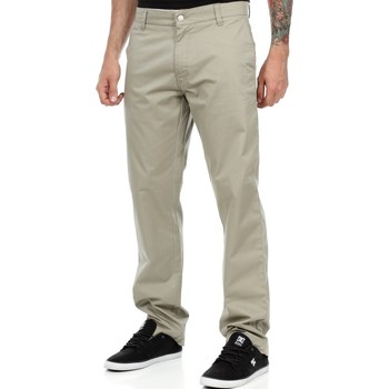 Clothing Men Chinos West Coast Choppers Beige-Kult Olive Chino Pant Black