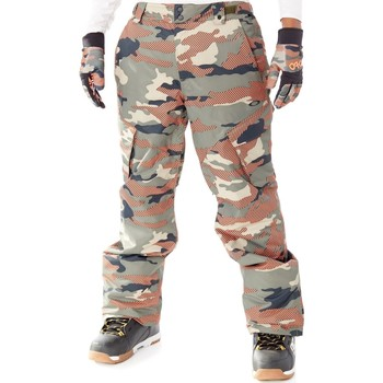 Clothing Men Cargo trousers Oakley Warning Camo Arrowhead 10K Snowboarding Pants Brown