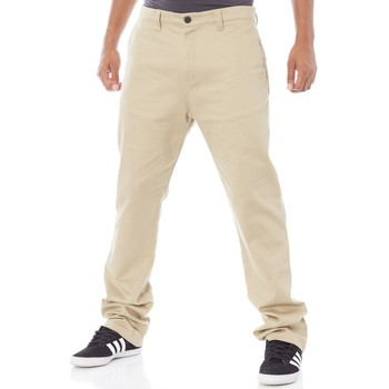 Clothing Men Chinos adidas Originals Hemp Adi Chino Pant Beige