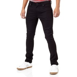 Clothing Men Slim jeans Volcom Black On Black 2x4 Skinny Fit Jeans Black