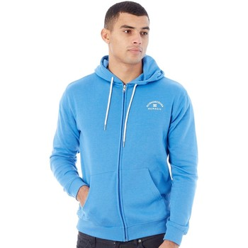 Clothing Men Sweaters DC Shoes Campunula Rebel Zip Hoody Blue