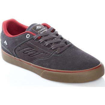 Shoes Men Low top trainers Emerica Dark Grey-Grey-Red The Reynolds Low Vulc Shoe Grey