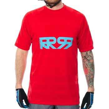 Clothing Men Short-sleeved t-shirts Royal Racing 2017 Impact Short Sleeved MTB Jersey Red