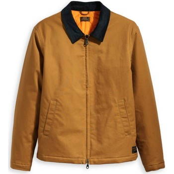 Clothing Men Jackets Levis Skateboarding Dark Ginger Mechanics 4 Jacket Brown
