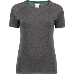 Clothing Women Short-sleeved t-shirts O'neill Deep Dark Melee Basic Womens T-Shirt Grey