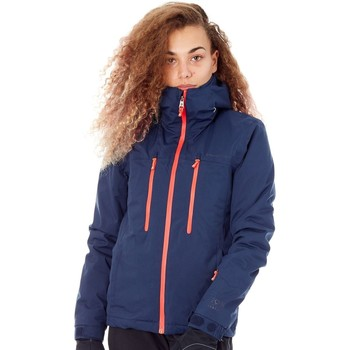 Clothing Women Parkas Protest Ground Blue FA16 Giggile Womens Snowboarding Jacket Black