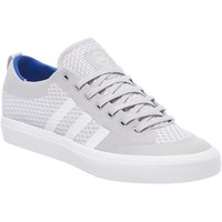 Shoes Men Low top trainers adidas Originals Grey Two-Footwear White-Gum4 Matchcourt Primeknit Shoe Grey